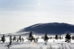 Снегопады и  морозы в Италии и Финляндии