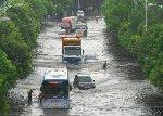 Территория Китая находиться во власти ужаснейшего наводнения