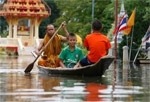 Flooding in Thailand and Bad weather in the north of European Russia